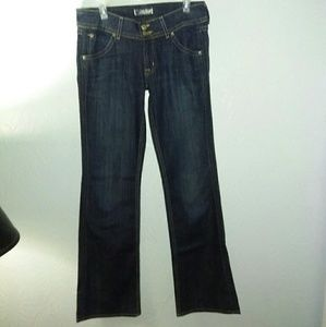 New Hudson Jeans 30 Signature Bootcut MAR wash